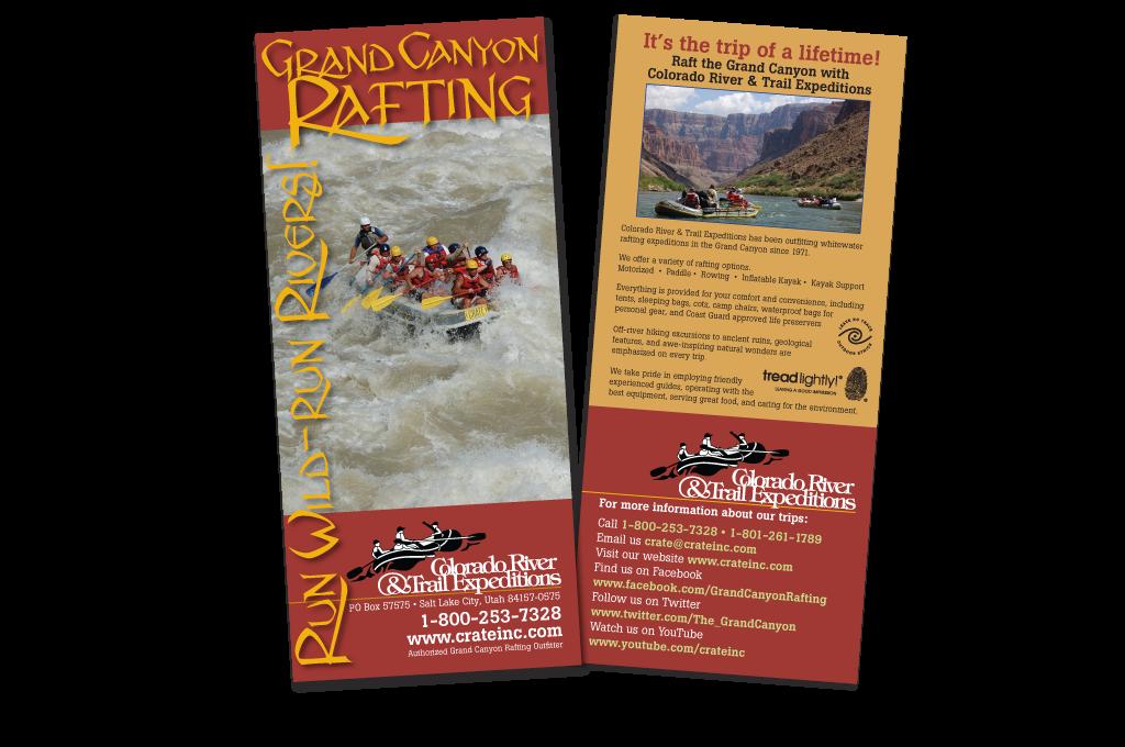Rack Card Grand Canyon