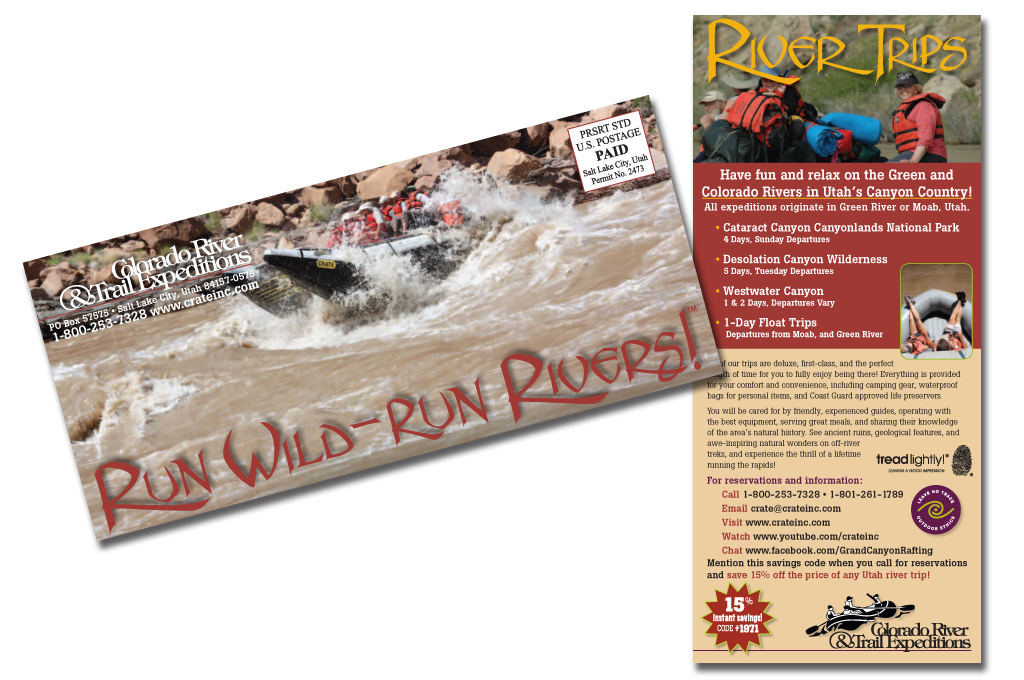 Rack Card Canyonlands